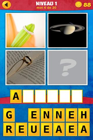 pour finir avec ce 4 images 1 mot impossible jeu