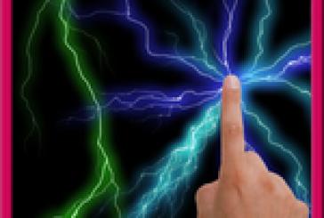 Electrique écran: fond d'écran électrique