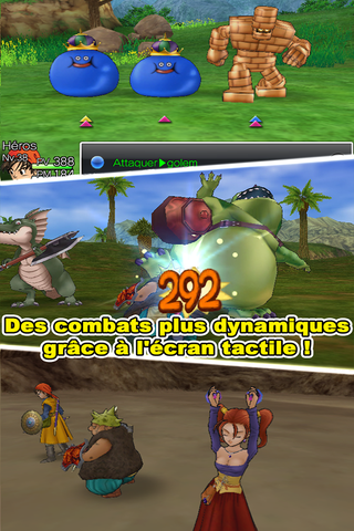 Dragon Quest VIII sur Android a
