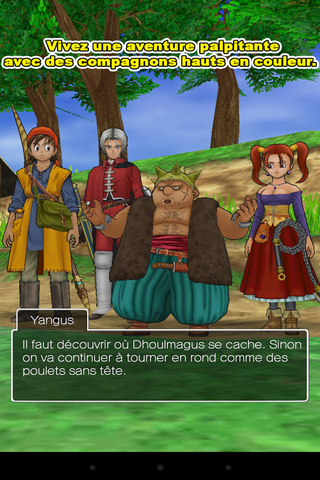 Dragon Quest VIII sur Android b