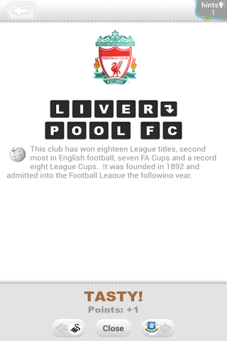 Logo Quiz équipes de football 1