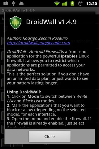 droidwall 2