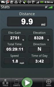 Backpacker GPS Trails b