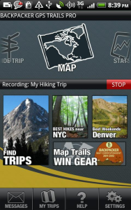 Backpacker GPS Trails c