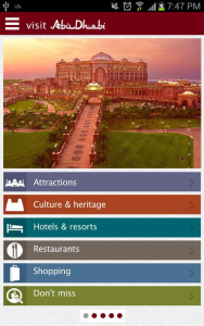 Visitez Abou Dhabi b