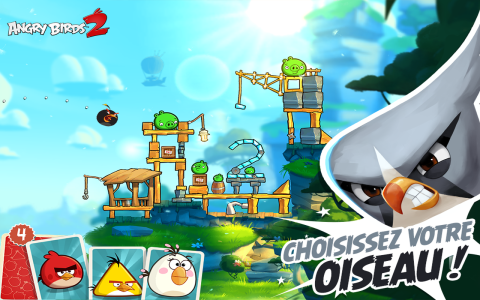 Angry birds pour android d passe les 30 millions de - Angry birds noel ...