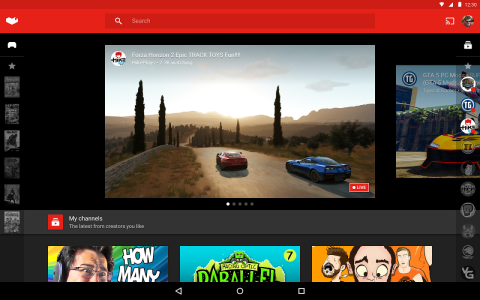 YouTube Gaming b