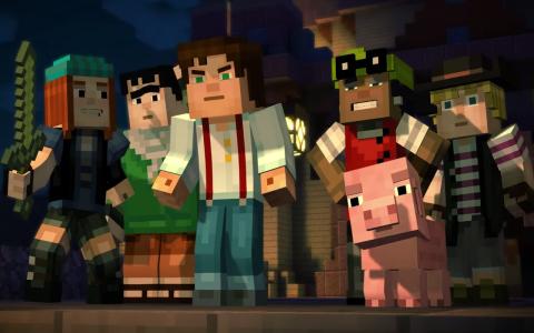 Minecraft par Telltale b