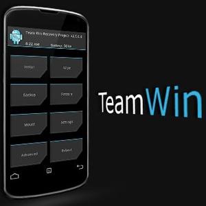 TWRP est supporté par de nouveaux Android