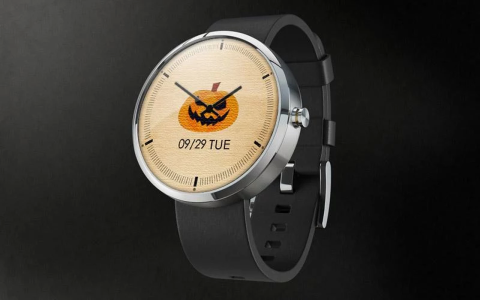 4 thèmes Halloween pour Android Wear a