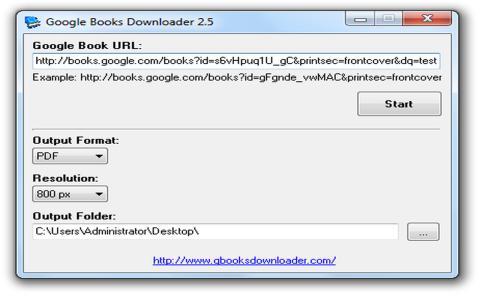 Google Book Downloader b