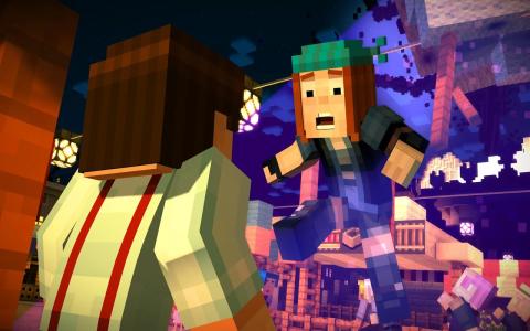 Minecraft Story Mode b