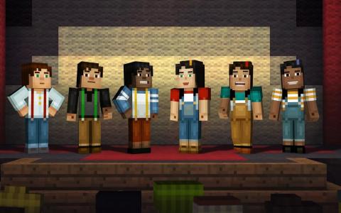 Minecraft Story Mode c
