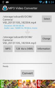 MP3 Video Converter b