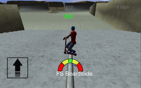 Scooter Freestyle Extreme 3D b