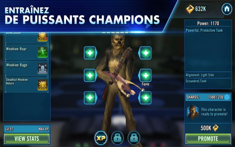 Star Wars Galaxy of Heroes c