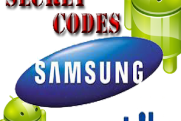 Les codes et menus cachés des Samsung