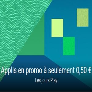 Des applications en promo sur Android