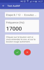 Test Auditif b