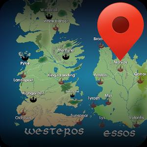 Map for Game of Thrones: Localisez les scènes !