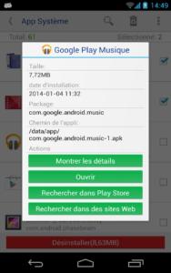 Désinstalleur App Sytème c