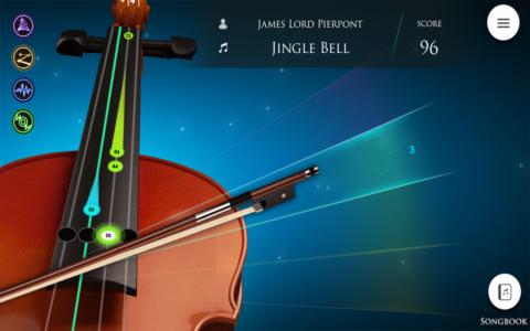 Violin Magical Bow b