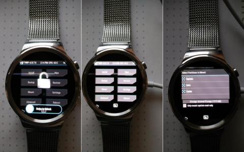 première rom custom pour la Huawei Watch b