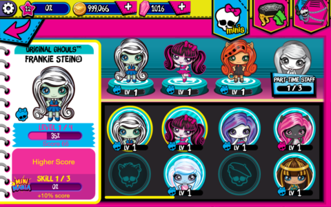 Monster High Minis Mania c