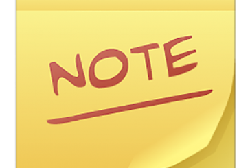 ColorNote est un bloc note ultra simple