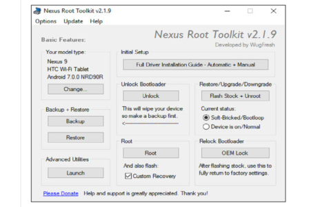 Nexus Root Toolkit b