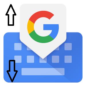 Comment modifier la taille du clavier GBoard sur Android ?