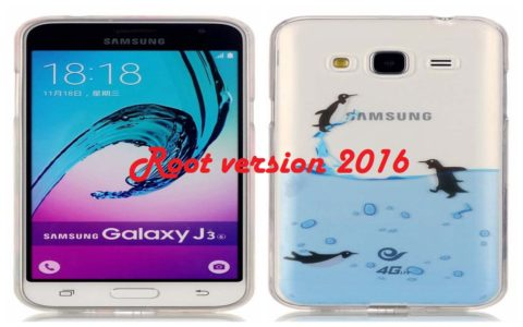 Rooter le Galaxy J3 J320FN version 2016 c