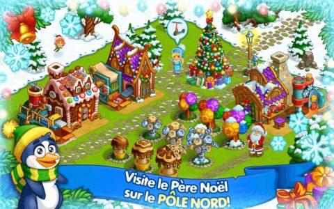 Ferme de Noël du Père Noël b