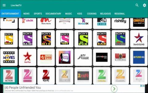 Live NetTV b