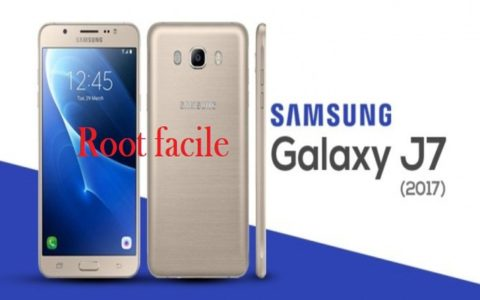 rooter le Galaxy J7 2017 b