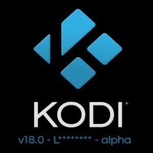Kodi 18 Alpha disponible: nouvelles fonctionnalités
