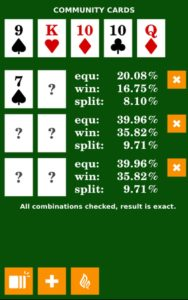 Poker Calculator b