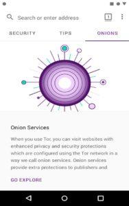 navigateur Tor c