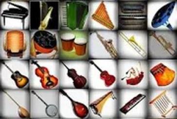 Instruments de musique: ils sont tous là !