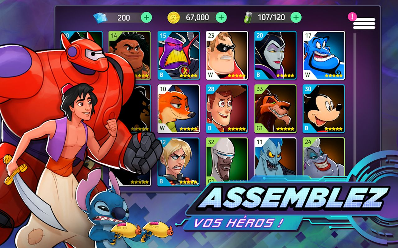 Disney Heroes Battle Mode b