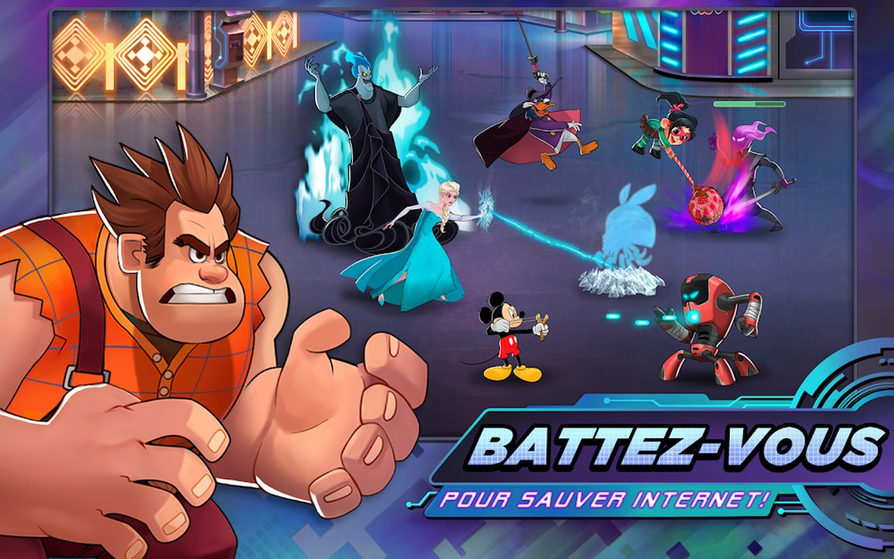 Disney Heroes Battle Mode c
