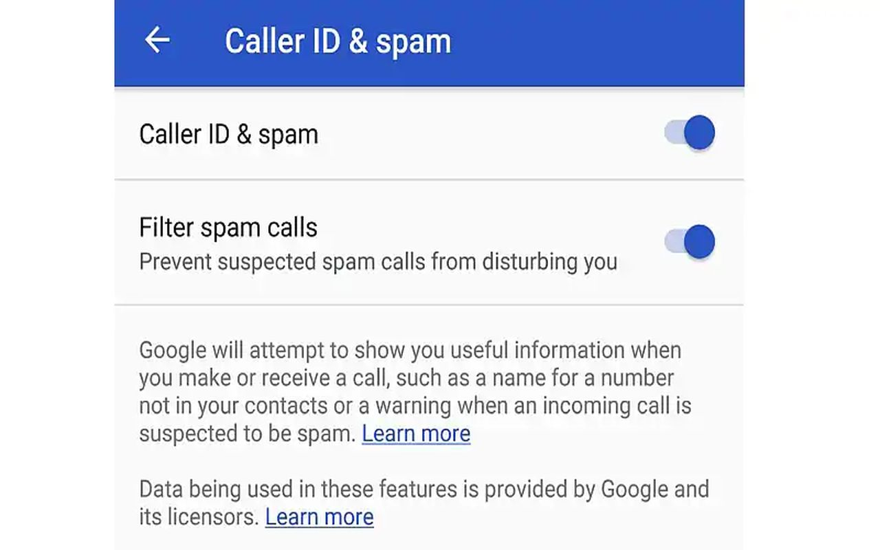 caller ID & spam b