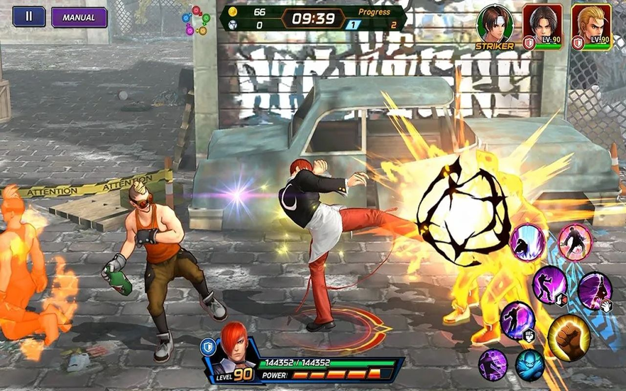 The King of Fighters ALLSTAR b