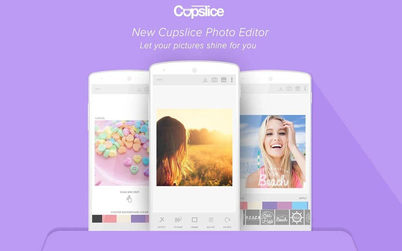 Cupslice Photo Editor d