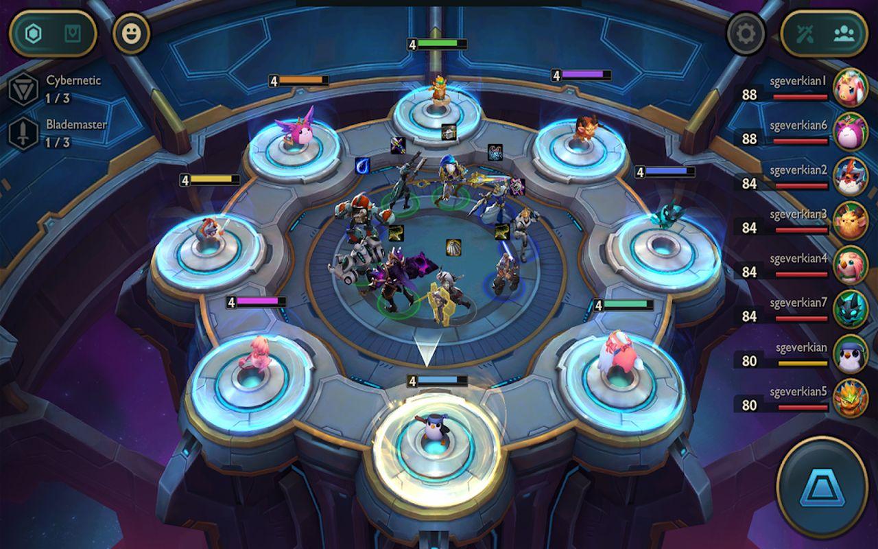 Teamfight Tactics c