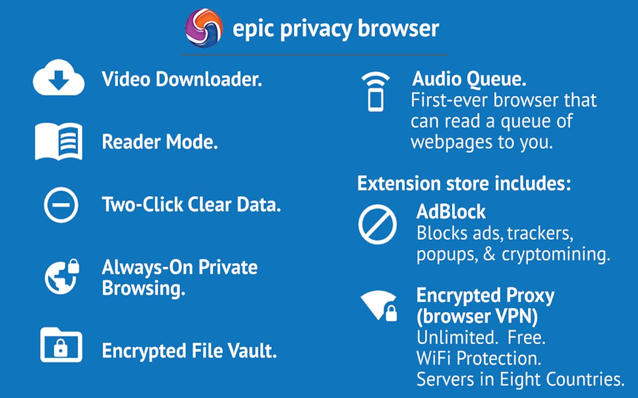 Epic Privacy Browser c
