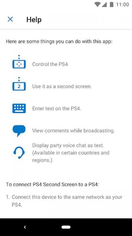 PS4 Second Screen b