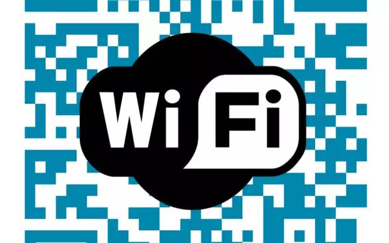 Partager connexion Wifi QR Code b
