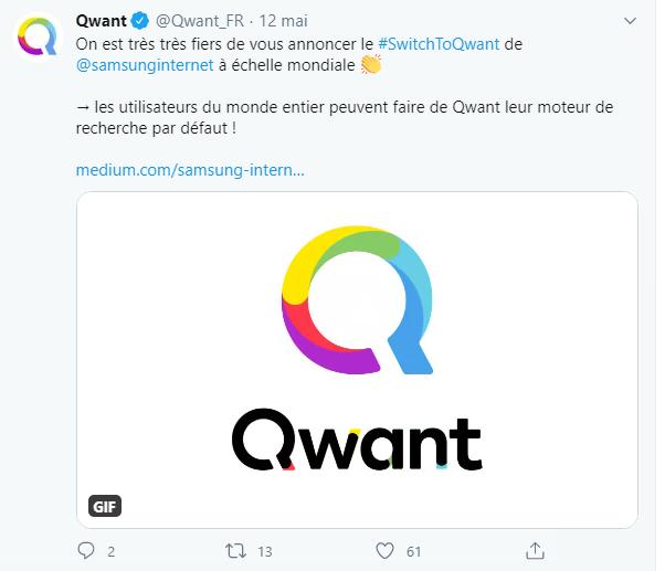 Qwant Samsung Internet b