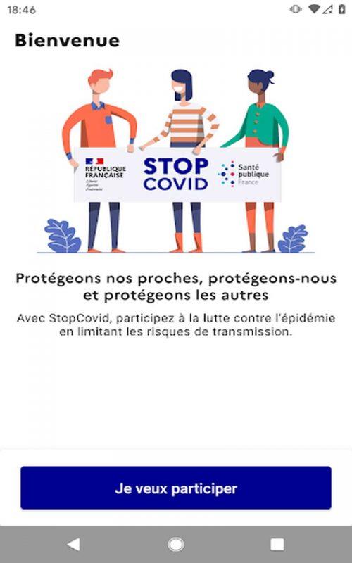 StopCovid France b